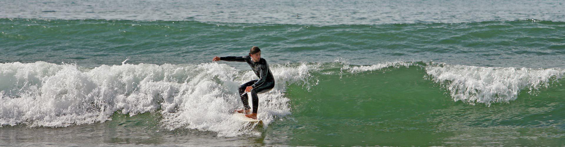 Surfer in Los Angeles, Kalifornien