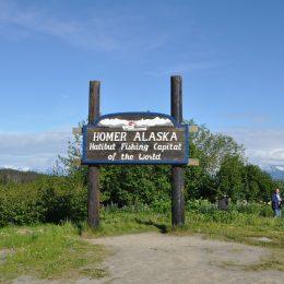 Auf dem Weg nach Homer, Alaska