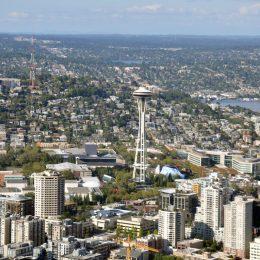 Rundflug über Seattle