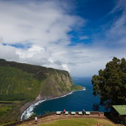 Ostküste von Hawaii Island