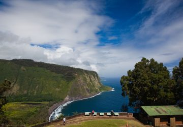 Feuerspeiende Berge auf der Großen Insel