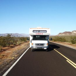 Mit dem Motorhome unterwegs im Death Valley Nationalpark