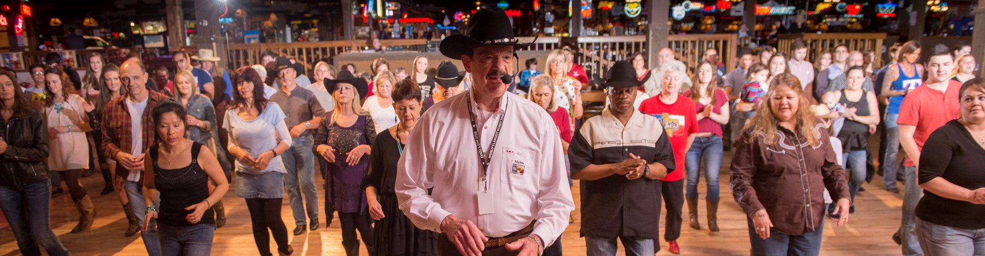 Line Dance, Dallas, Texas