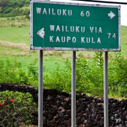 Wegweiser, Maui