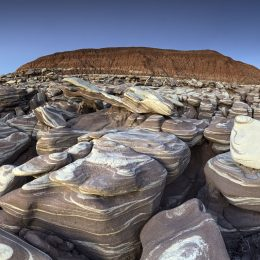 Stripped Rocks, Petrified Forest National Park