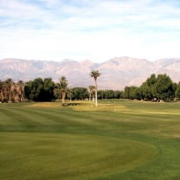 Furnace Creek Golfplatz, Death Valley, Kalifornien