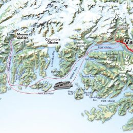 Mears Glacier Route