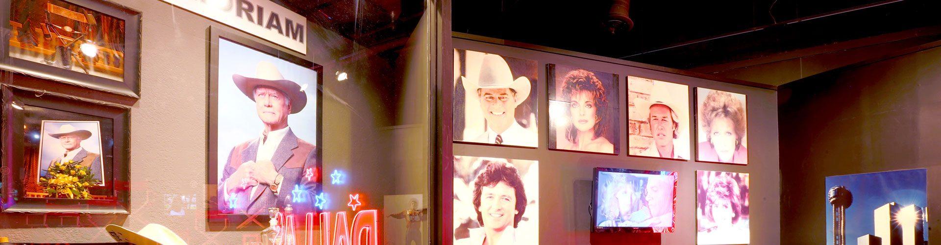 """Die Stars der Serie """"Dallas"""""""