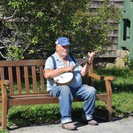 Banjo Spieler