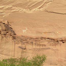 Felszeichnungen, Canyon de Chelly National Monument, Arizona