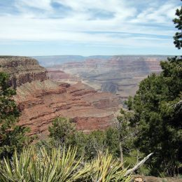 Grand Canyon bei Hermits Rest, Arizona