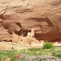 Pueblo Ruinen, Canyon de Chelly National Monument, Arizona