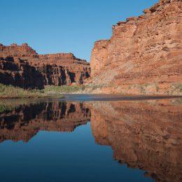 Spiegelung im Colorado River