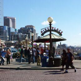 Pike Place Market, der berühmte Markt von Seattle