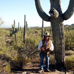 Unser Guide im Saguaro National Park, Arizona