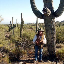 Unser Guide in der Sonora Wüste