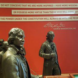 Hier wurde die Amerikanische Verfassung beschlossen