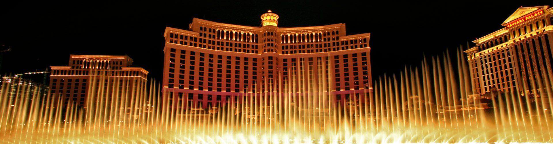 Wasserfontänen im Hotel Bellagio, Las Vegas
