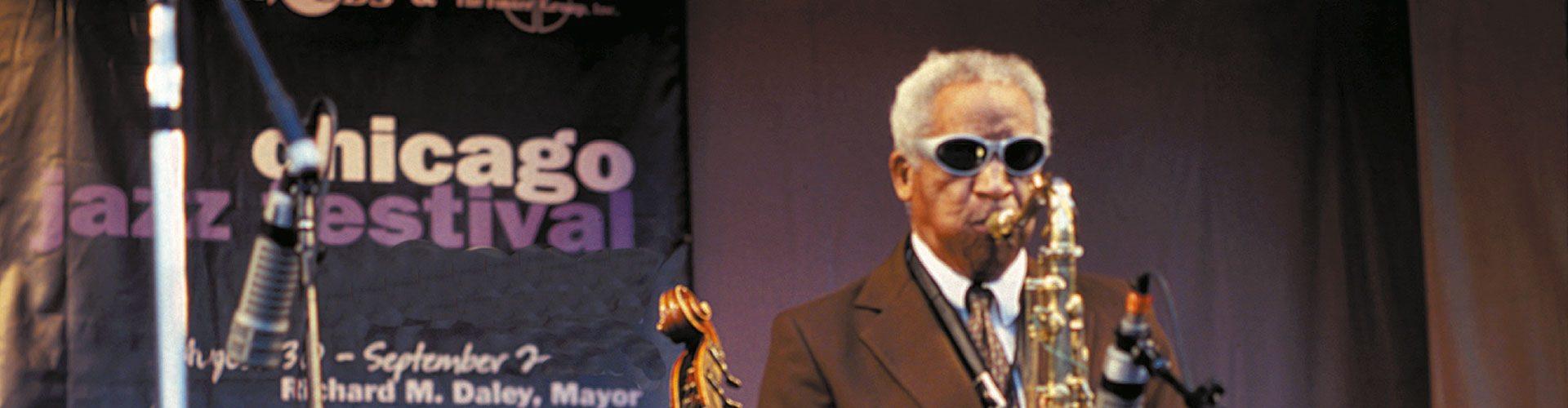 Jazzfestival in Chicago