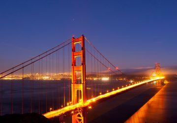 Die Schöne am Golden Gate