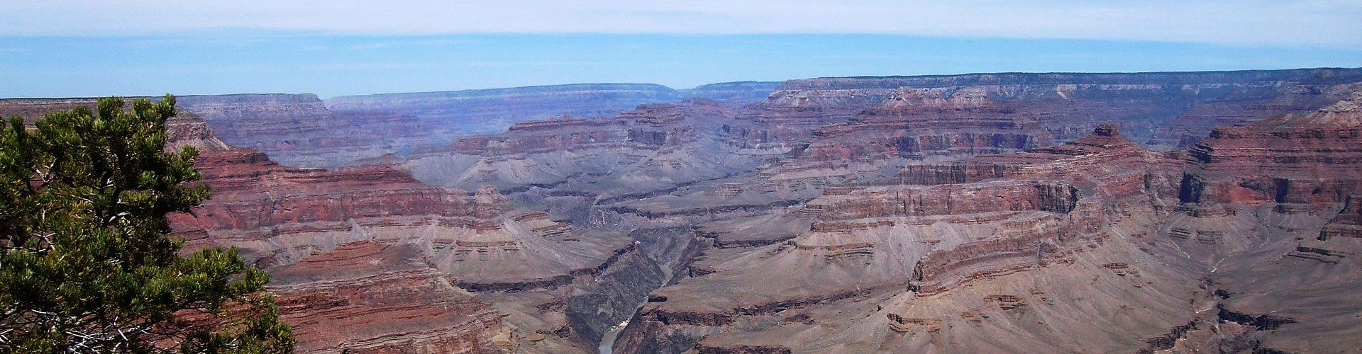 Die Schluchten des Grand Canyon National Park