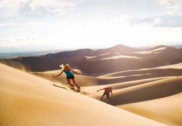 Great Sand Dunes: Nordamerikas größte Sanddünen