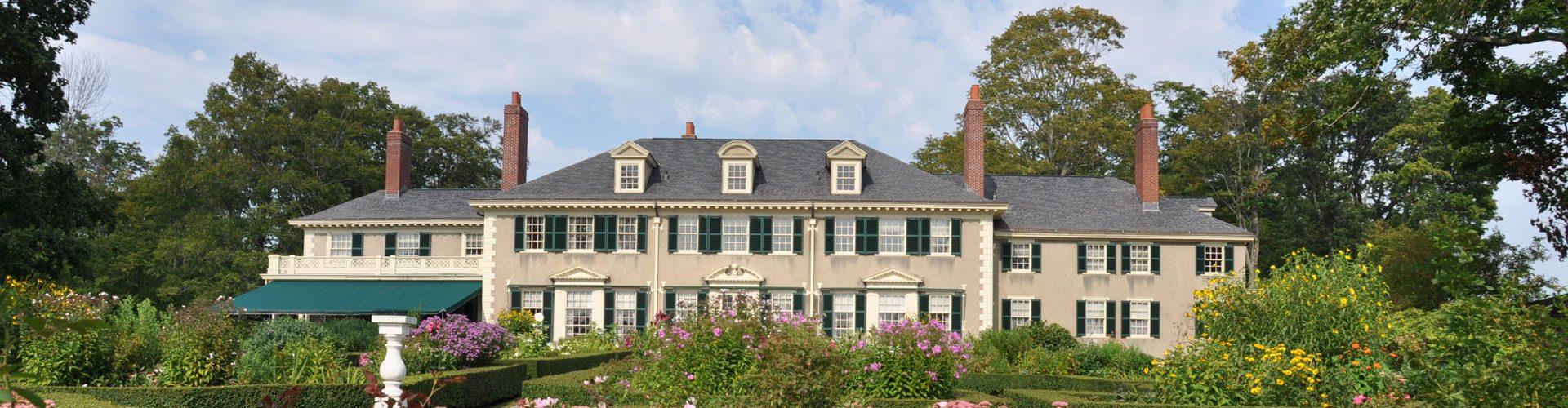 Das feudale Heim der Lincoln Familie in Hildene, Vermont