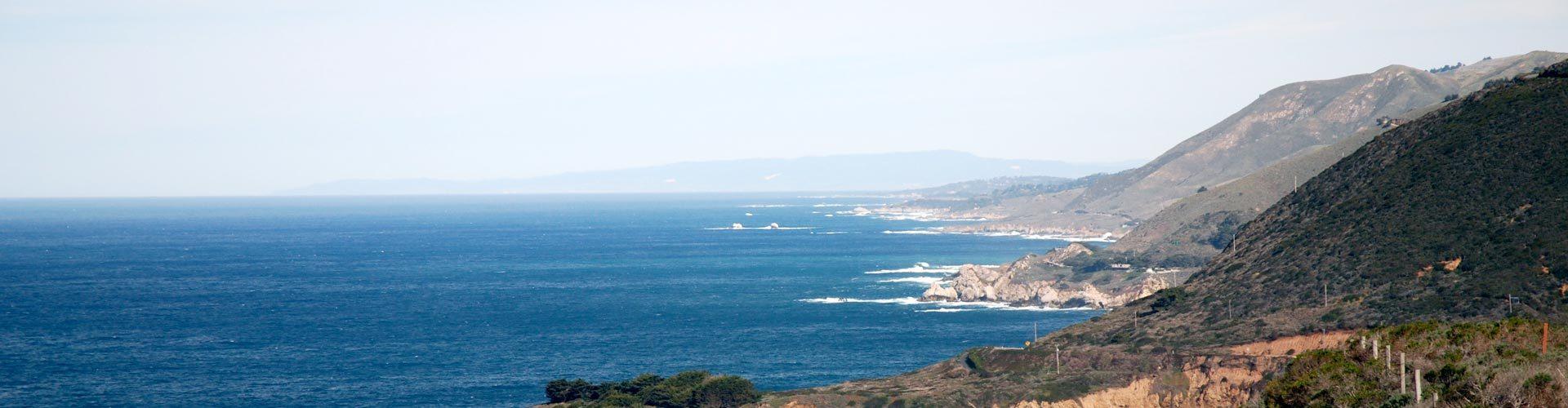 Kaliforniens Küste
