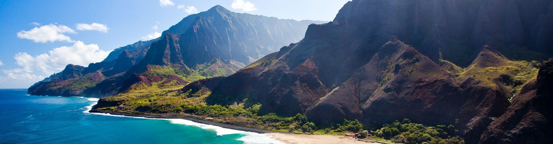 Spektakuläre Küste, Kauai