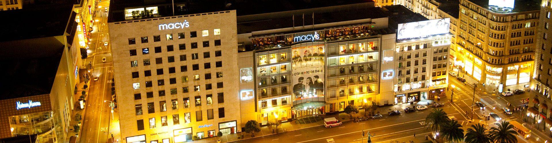Macy's Shopping, San Francisco