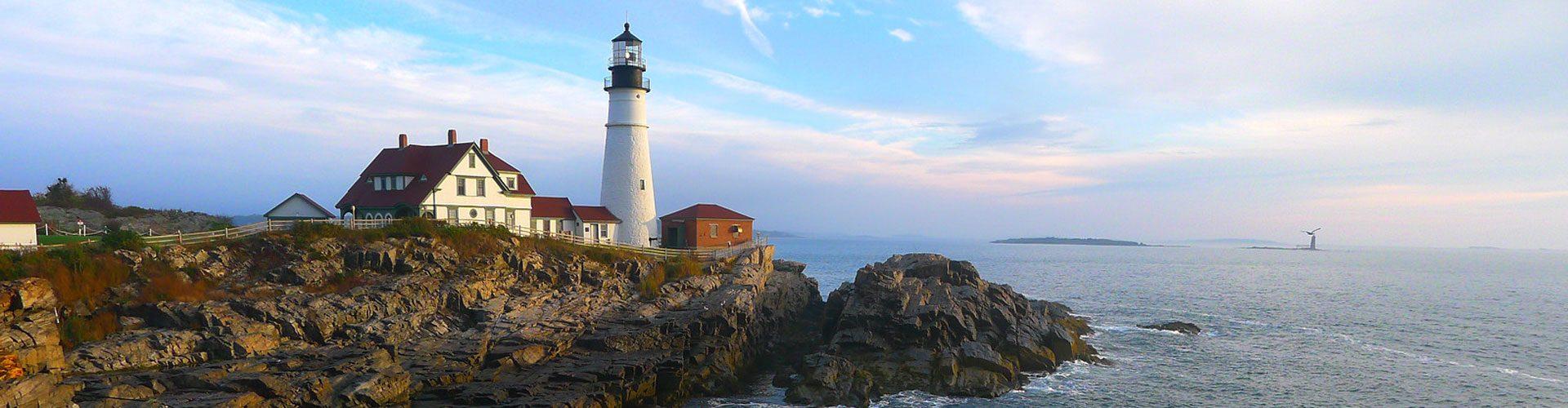 Leuchtturm in Portland, Maine