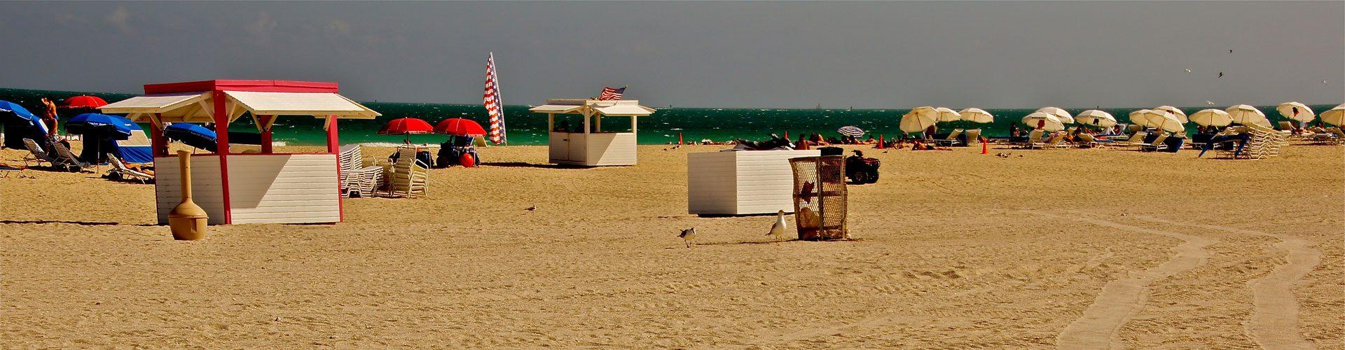Strand von Miami Beach, Florida