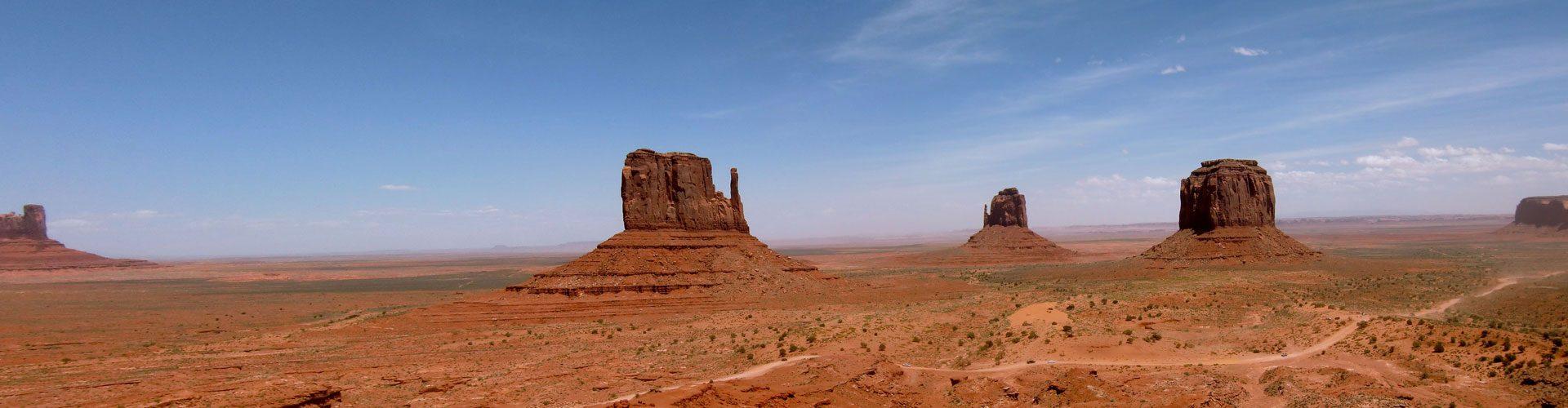 Drei Mittens, Monument Valley, Utah