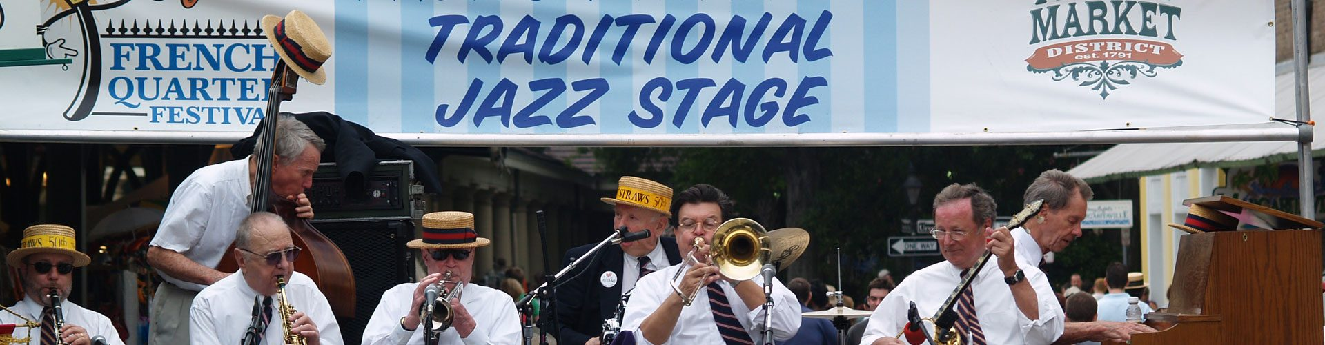 Jazz Fest in New Orleans