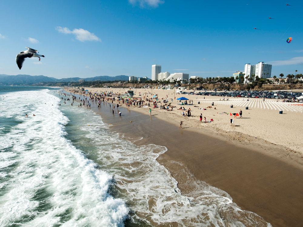 Los Angeles Kalifornien Zehn Aufregende Bezirke