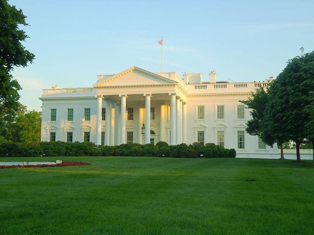 Weißes Haus, Rückseite, Washington DC