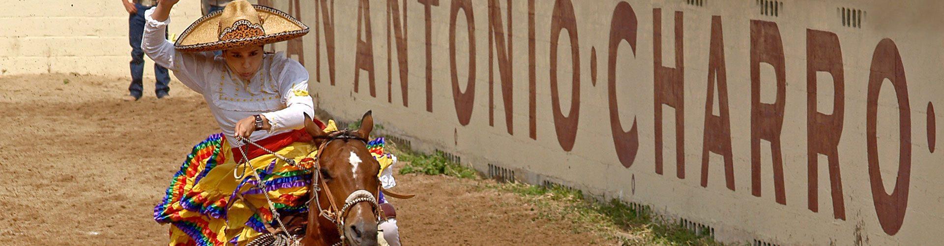 Rodeo Reiter in San Antonio, Texas