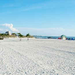 Strand in St. Petersburg Beach, Florida