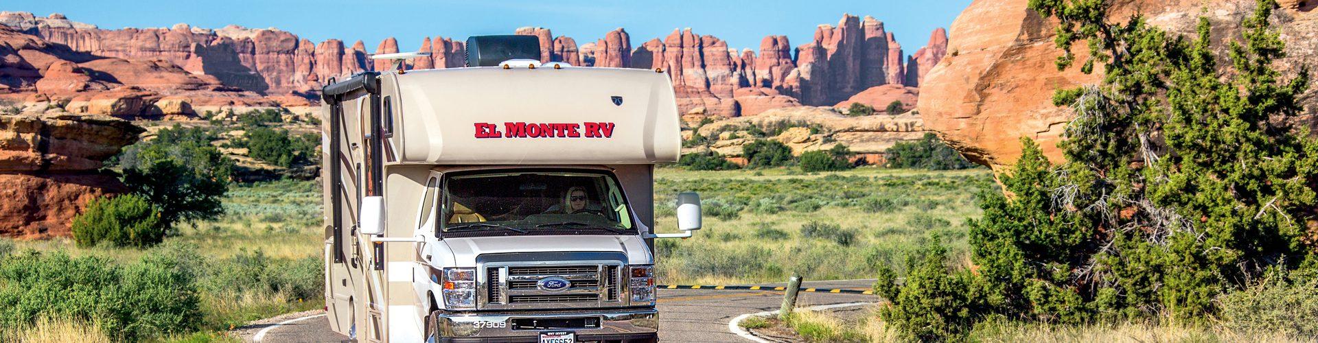 Unterwegs mit dem Wohnmobil von El Monte