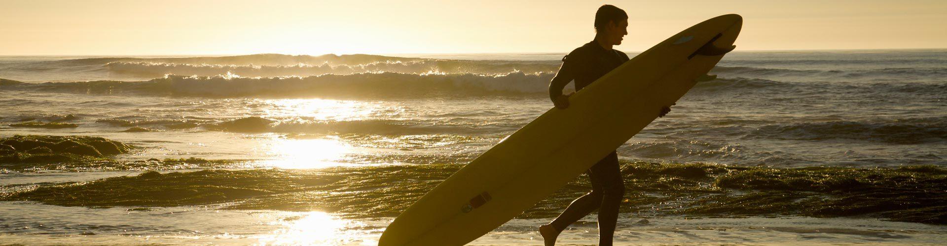 Surfer in San Diego, Kalifornien