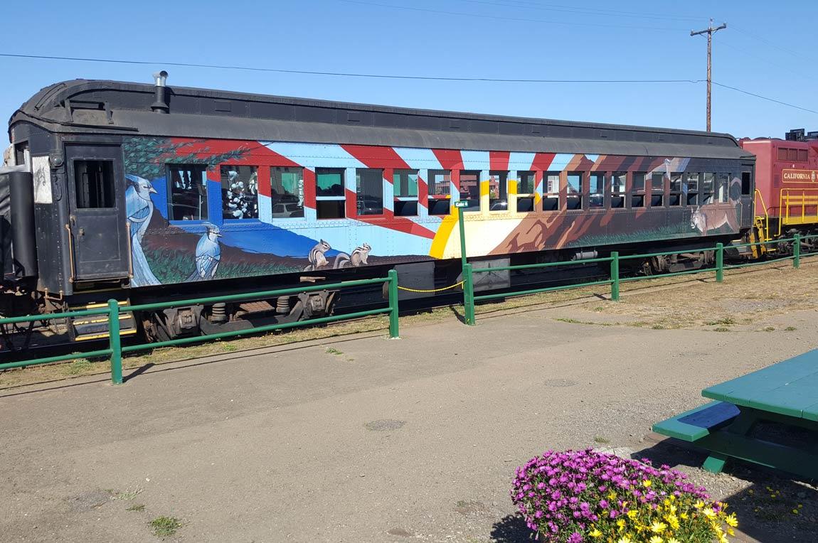 Skunk Train, Mendocino