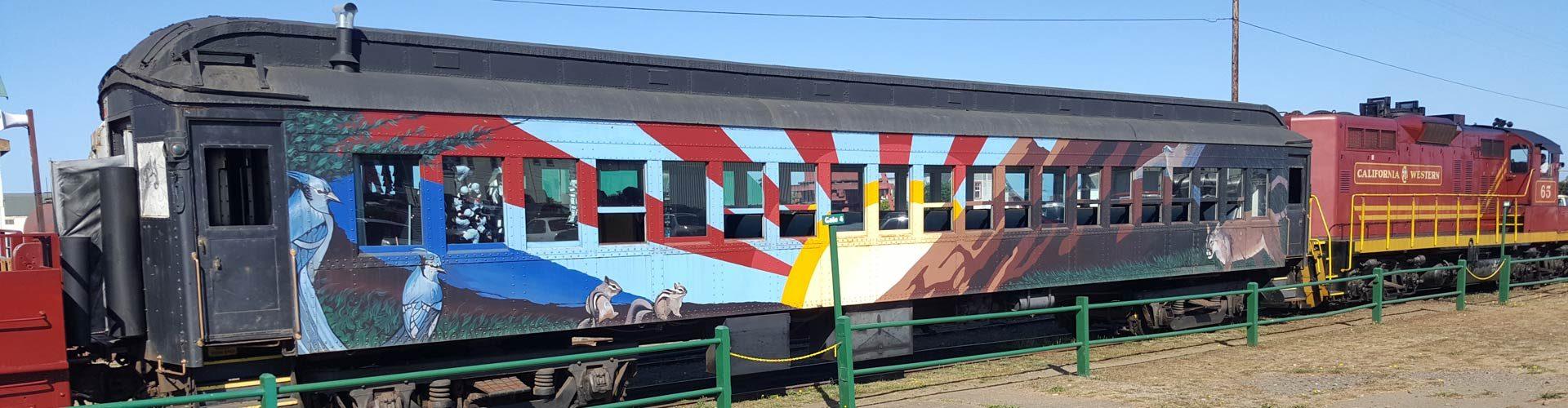 Skunk Train, Mendocino County