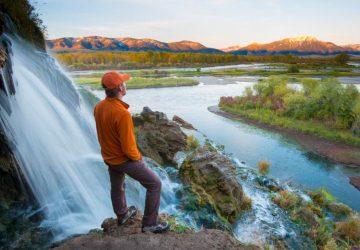 Erkaltete Lavaströme & die Rockies