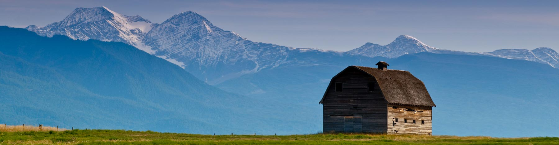 Mission Mountains, Flathead Indian Reservation, Montana